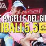 Le pagelle del Giro2016, Nibali: 5,5