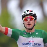 Elia Viviani: in dubbio la sua presenza al Giro d'Italia.